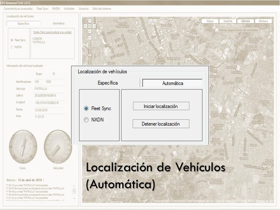Localización de Vehículos (Automática)