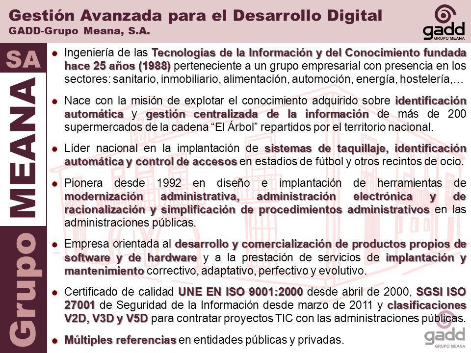 Gestión Avanzada para el Desarrollo Digital