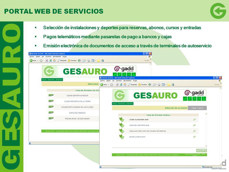 PORTAL WEB DE SERVICIOS