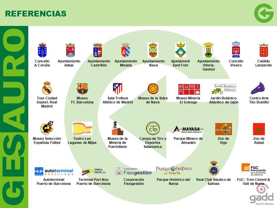 REFERENCIAS Concello A Coruña Ayuntamiento Adeje