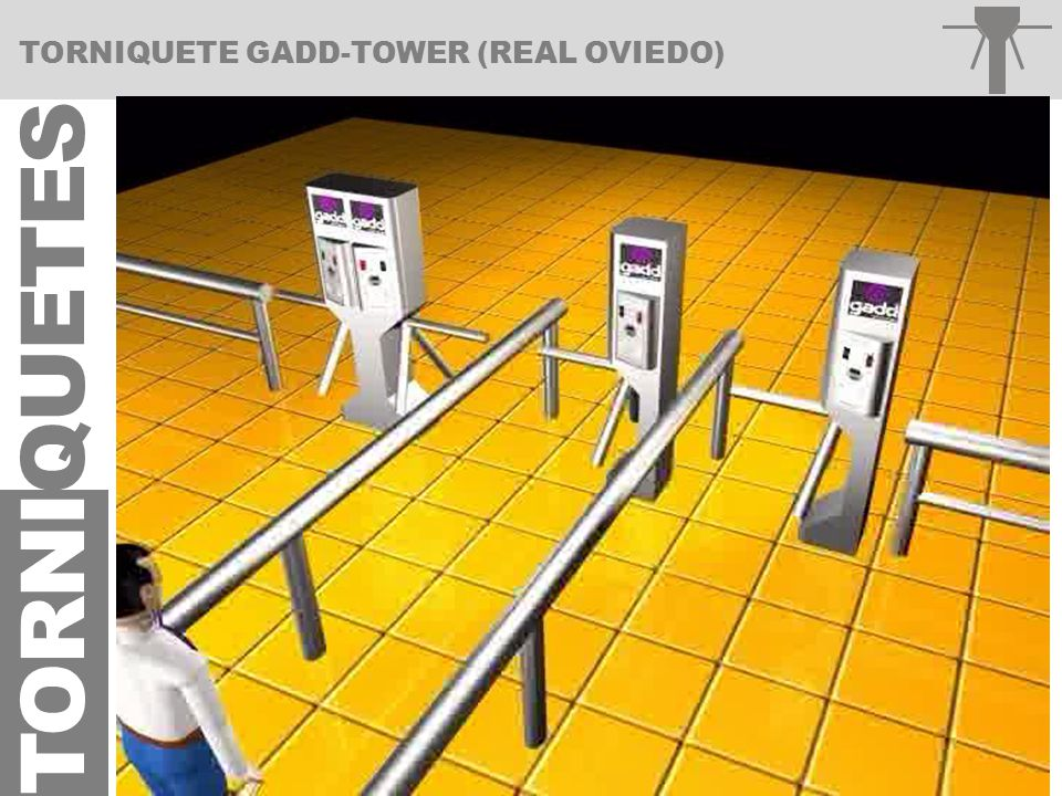 TORNIQUETE GADD-TOWER (REAL OVIEDO)