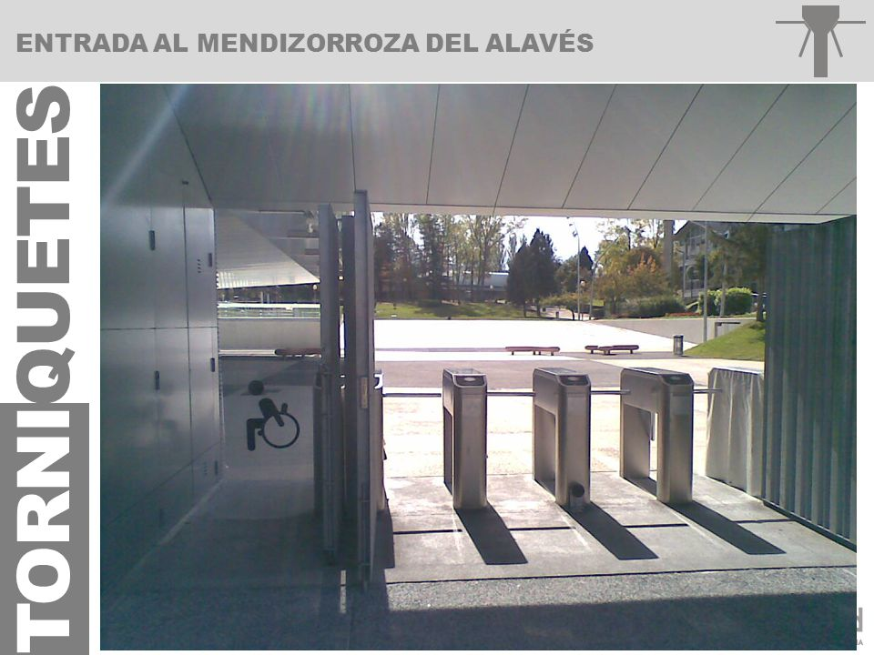 ENTRADA AL MENDIZORROZA DEL ALAVÉS