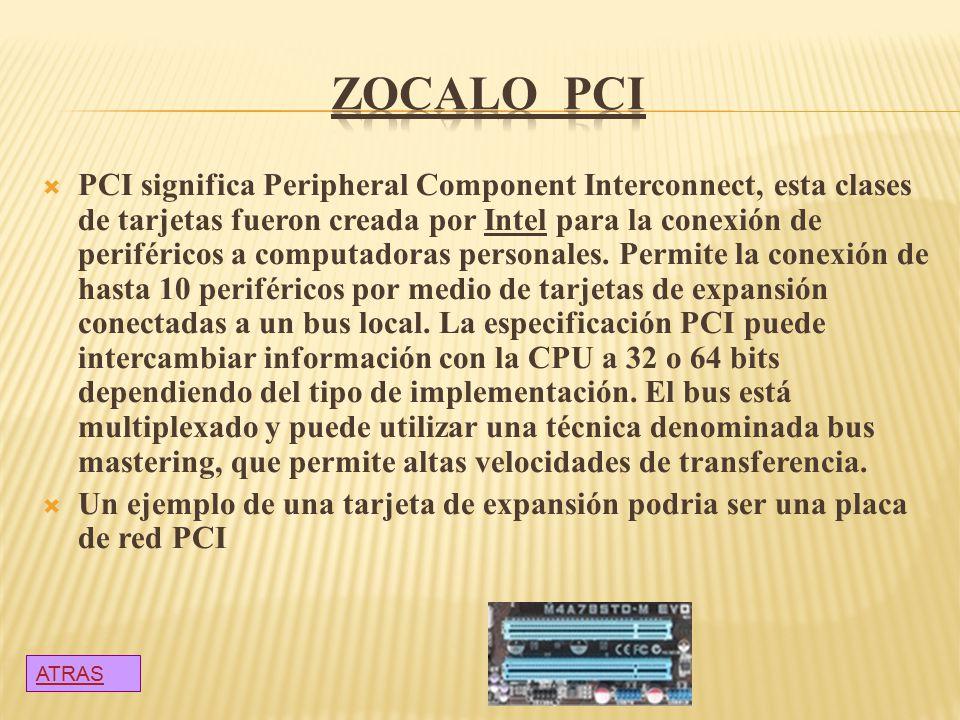 ZOCALO PCI