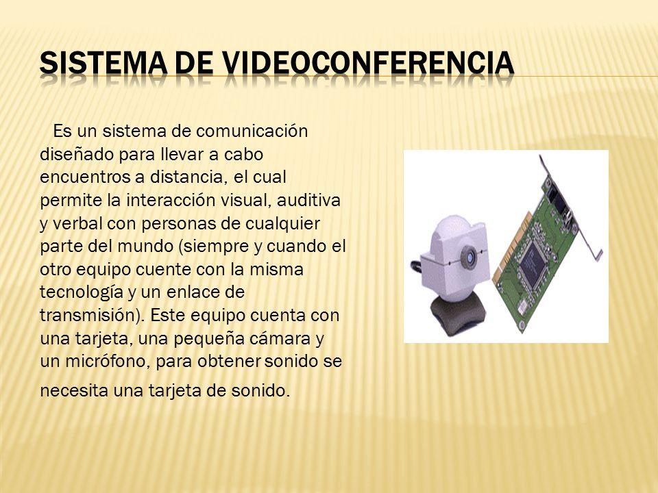 Sistema de videoconferencia