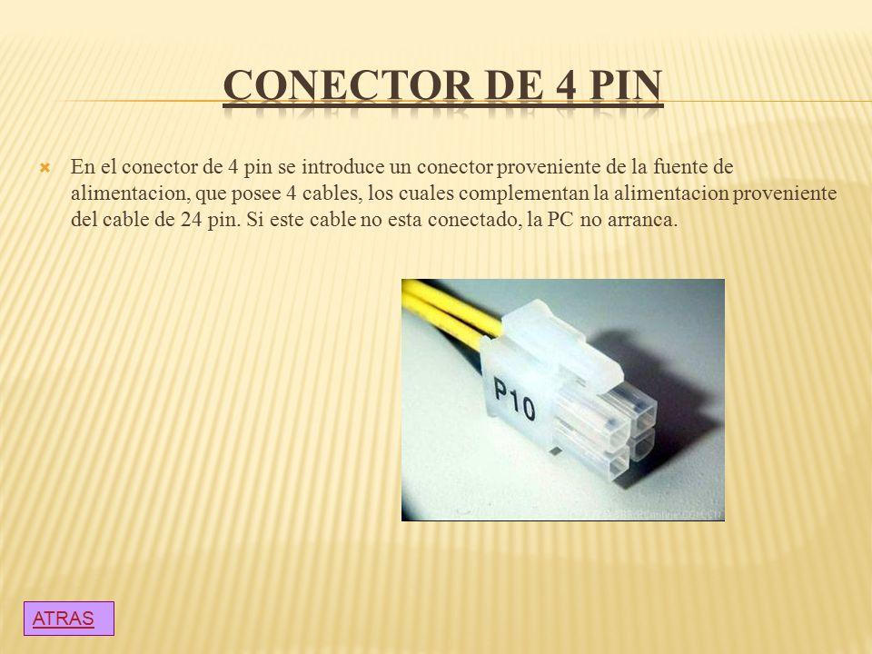 CONECTOR DE 4 PIN