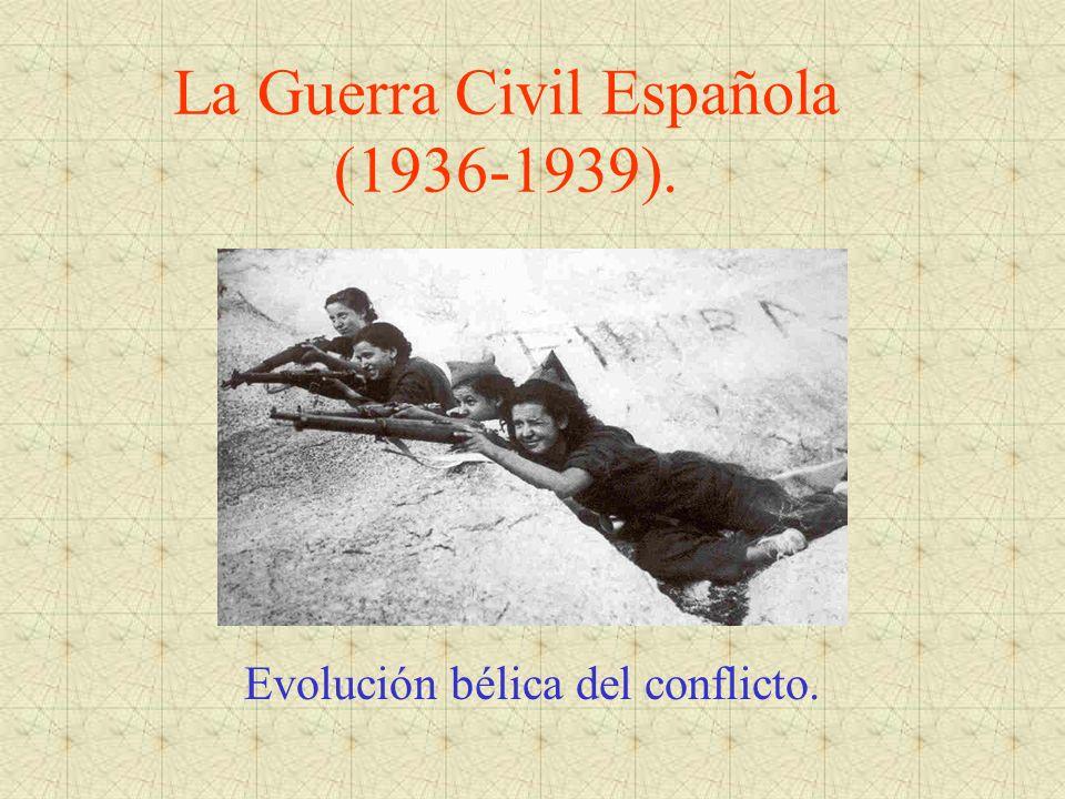 La Guerra Civil Española (1936-1939).