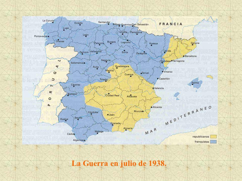 La Guerra en julio de 1938.