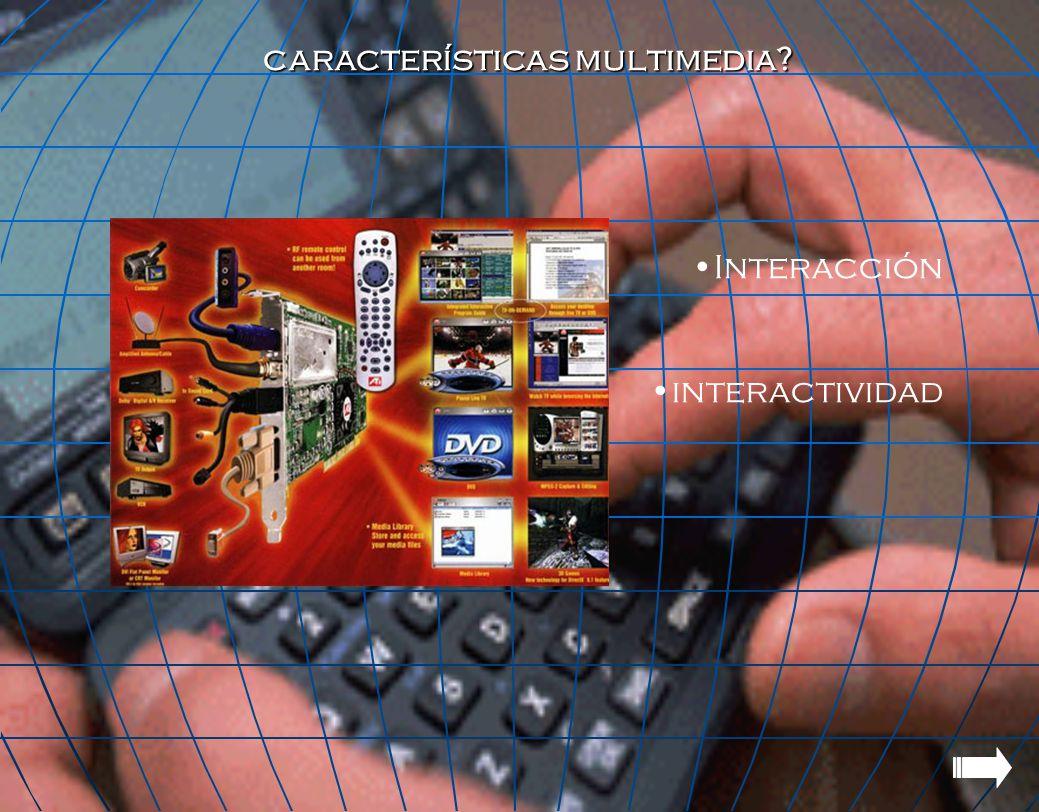características multimedia