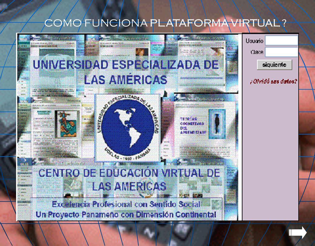 COMO FUNCIONA PLATAFORMA VIRTUAL