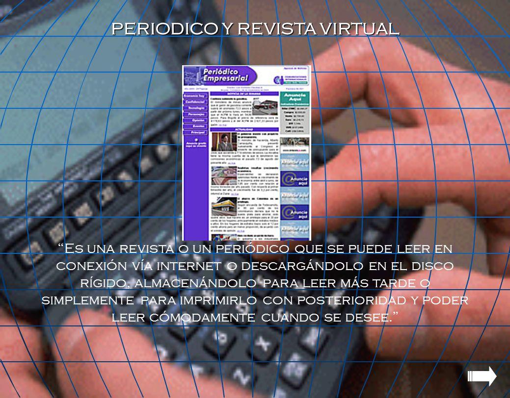 PERIODICO Y REVISTA VIRTUAL