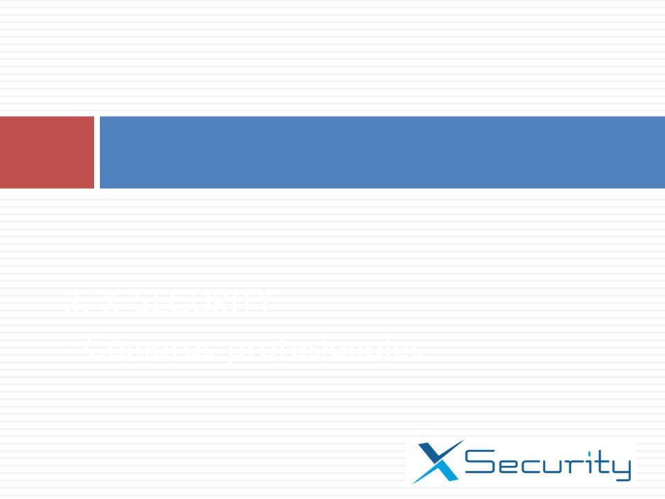 3. X-SECURITY - Cámaras profesionales