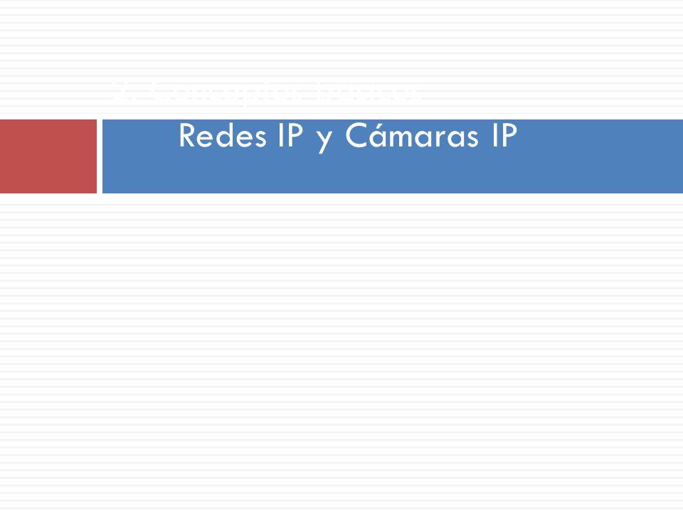 2. Conceptos básicos Redes IP y Cámaras IP