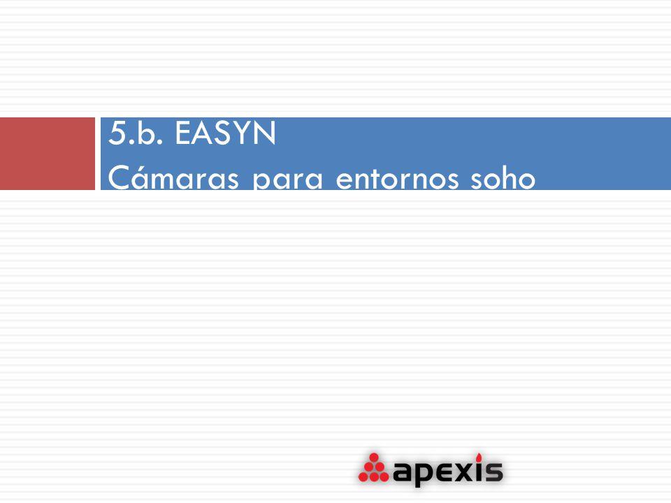 5.b. EASYN Cámaras para entornos soho