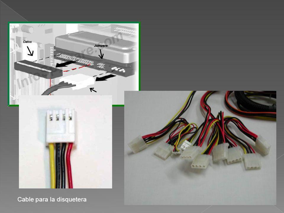 Cable para la disquetera