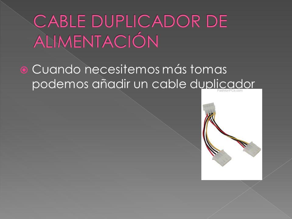 CABLE DUPLICADOR DE ALIMENTACIÓN