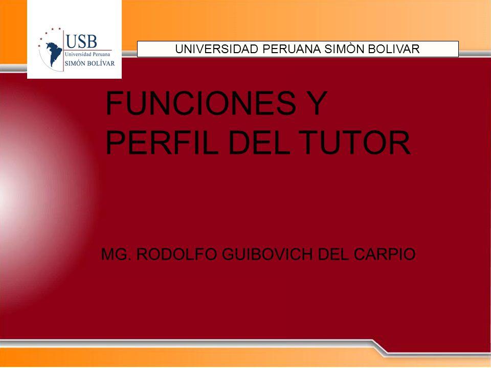 UNIVERSIDAD PERUANA SIMÒN BOLIVAR