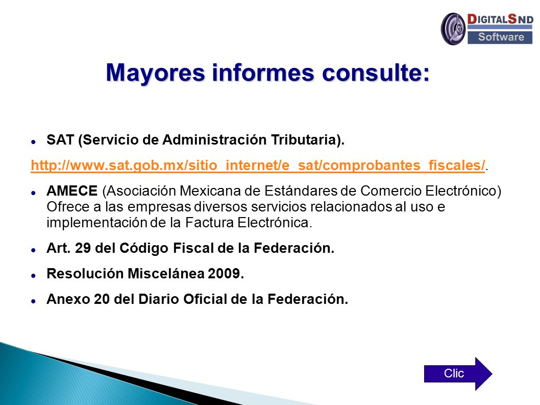 Mayores informes consulte: