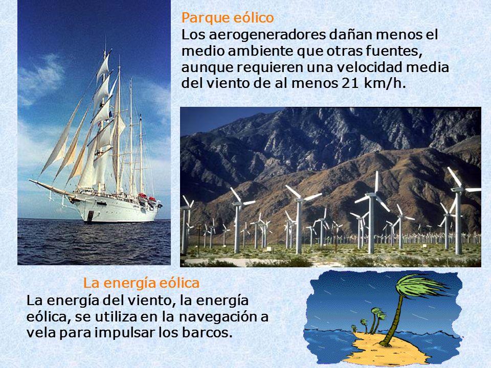 La energía eólica Parque eólico