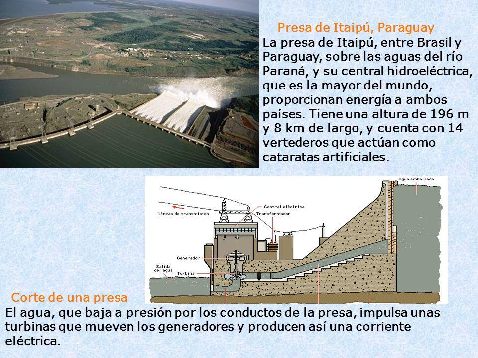 Presa de Itaipú, Paraguay