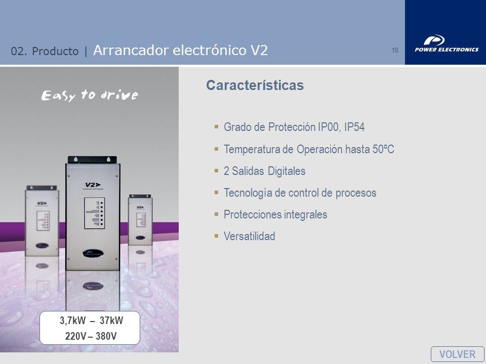 02. Producto | Arrancador electrónico V2