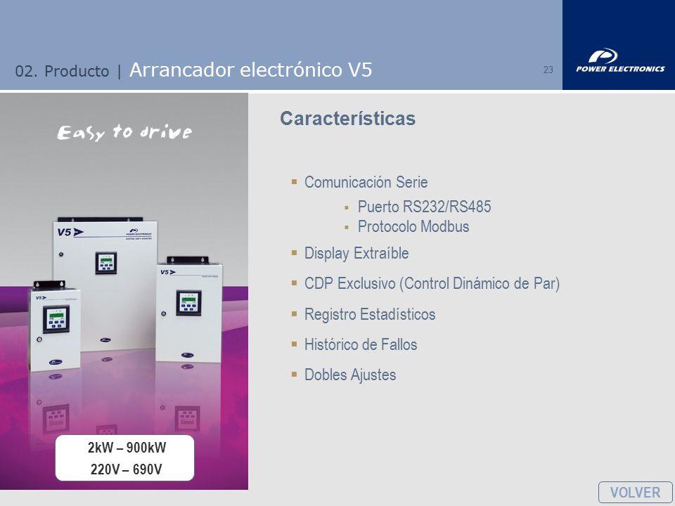 02. Producto | Arrancador electrónico V5