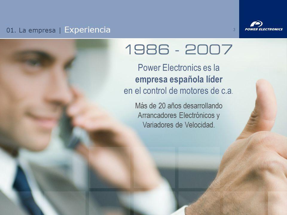 01. La empresa | Experiencia