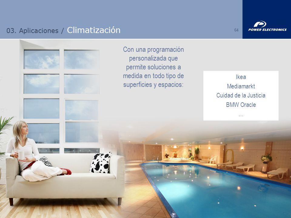 03. Aplicaciones / Climatización