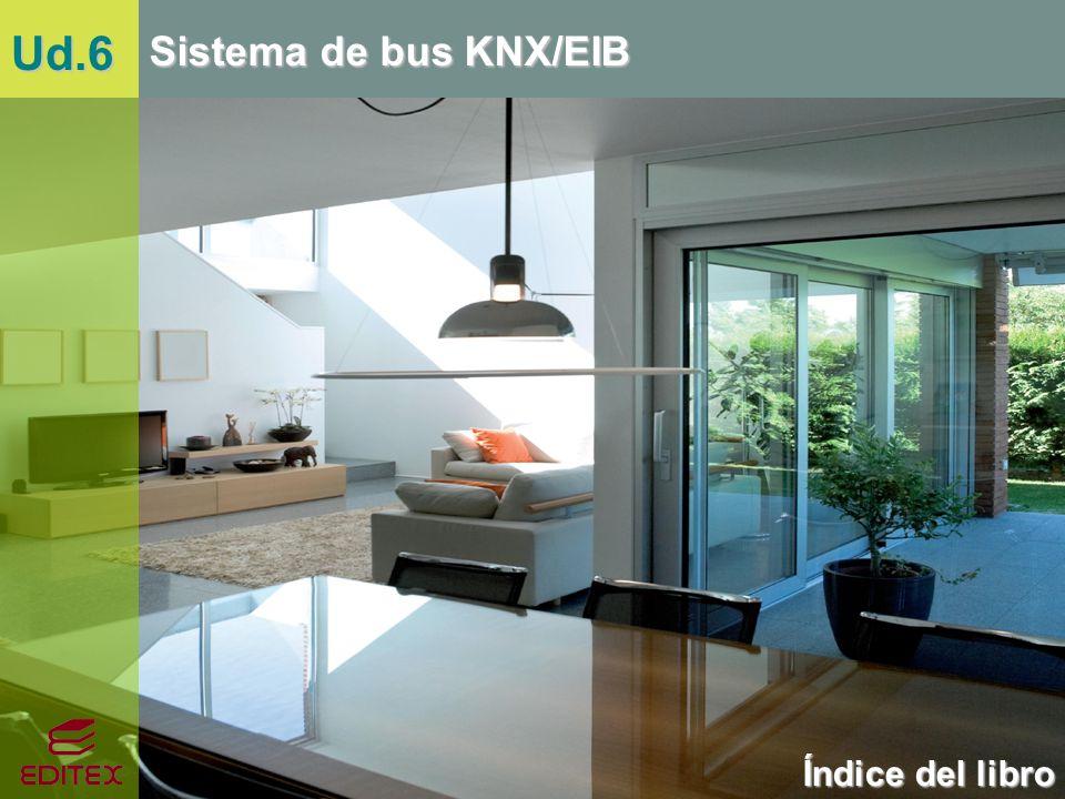 Índice del libro Sistema de bus KNX/EIB Ud.6