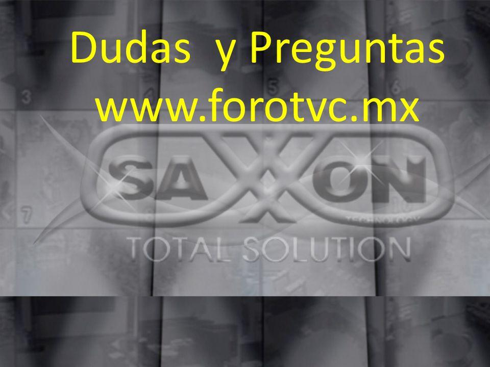 Dudas y Preguntas www.forotvc.mx
