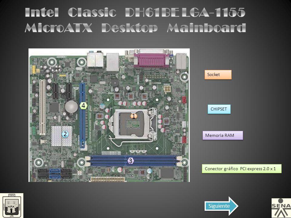 Intel Classic DH61BE LGA-1155 MicroATX Desktop Mainboard