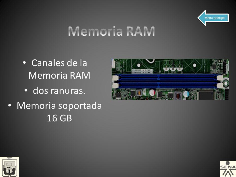 Canales de la Memoria RAM
