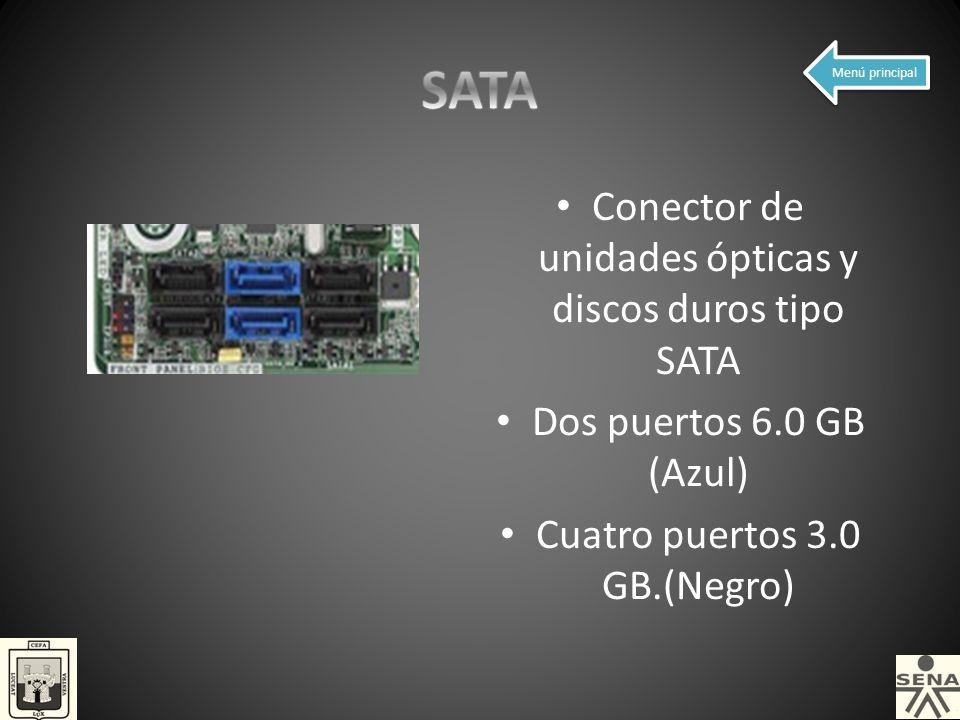 SATA Conector de unidades ópticas y discos duros tipo SATA