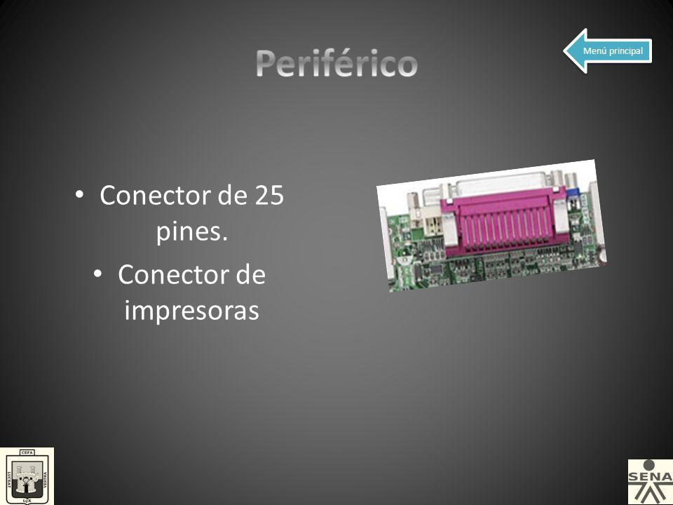 Conector de impresoras