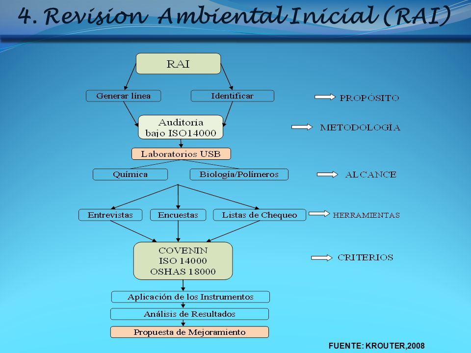 Revision Ambiental Inicial (RAI)
