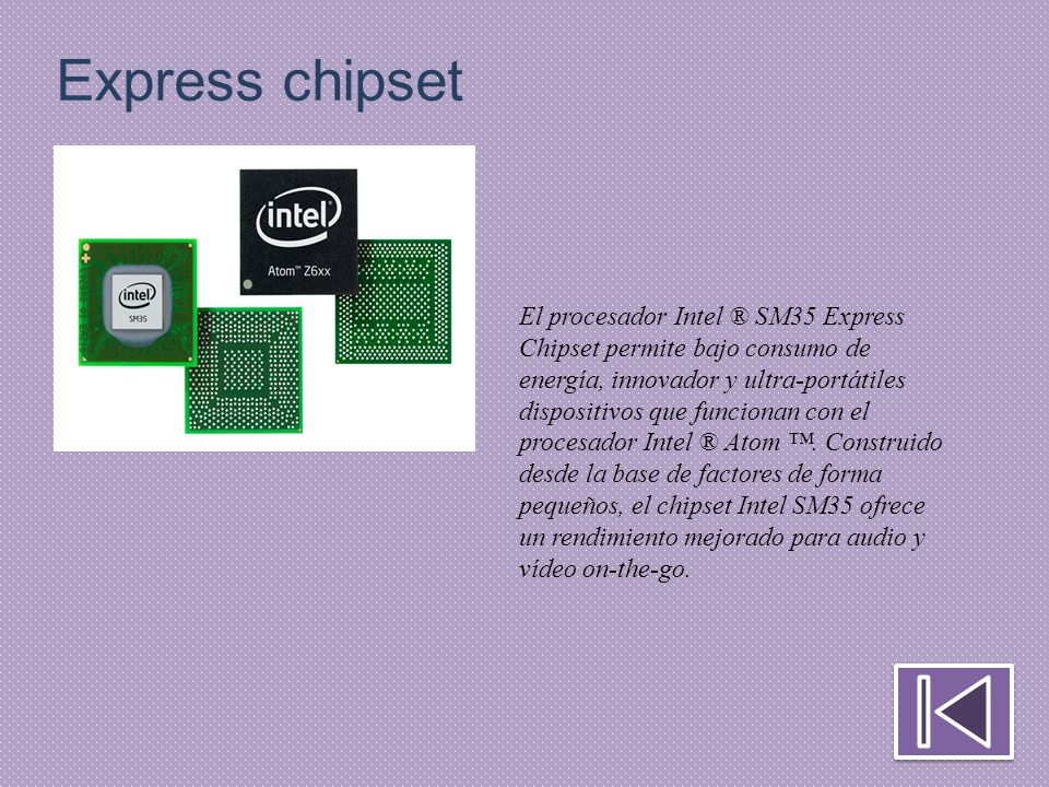 Express chipset