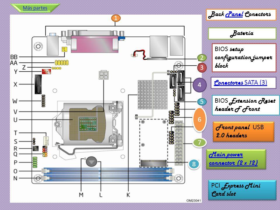 BIOS setup configuration jumper block 2 3