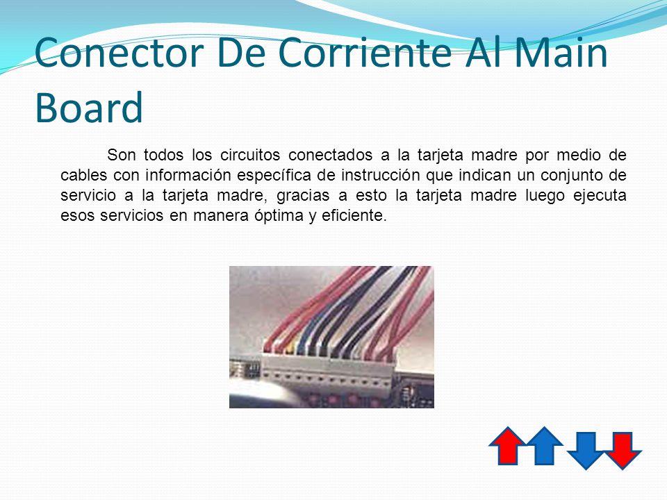 Conector De Corriente Al Main Board
