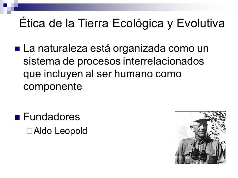 Ética de la Tierra Ecológica y Evolutiva
