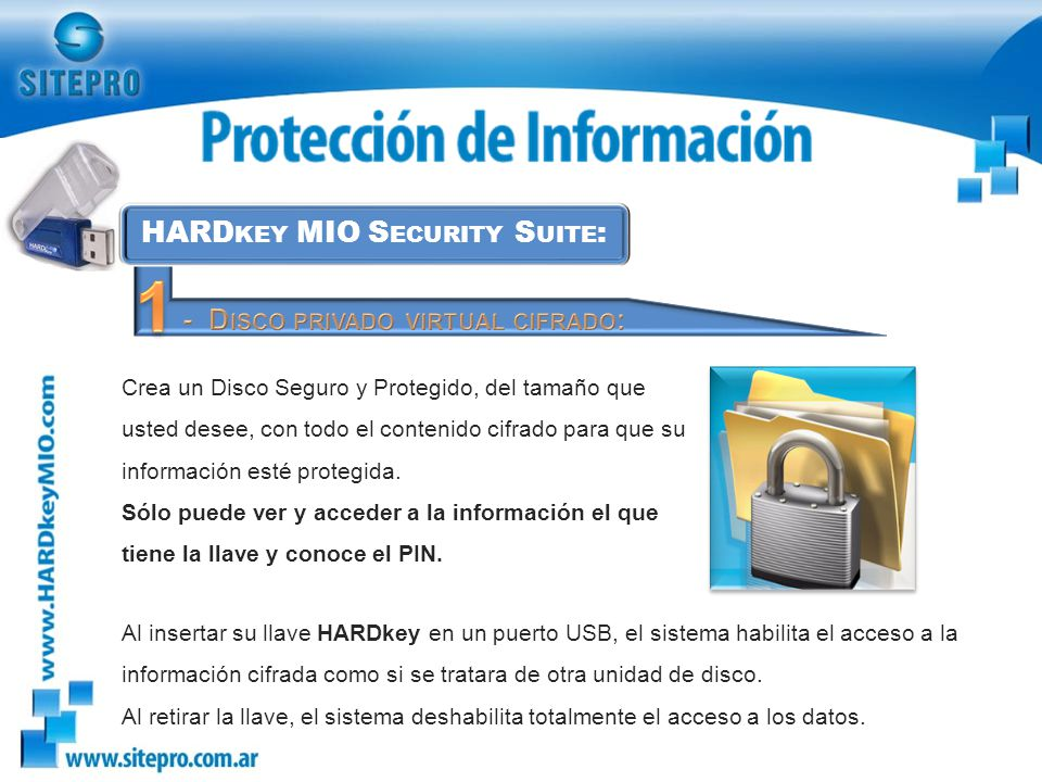 HARDkey MIO Security Suite: