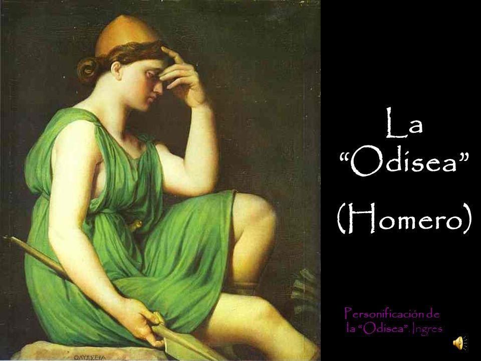 La Odisea (Homero) Personificación de la Odisea . Ingres