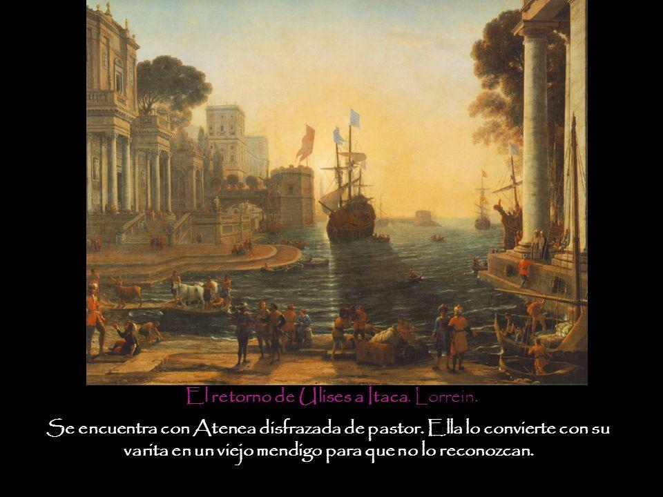 El retorno de Ulises a Ítaca. Lorrein.