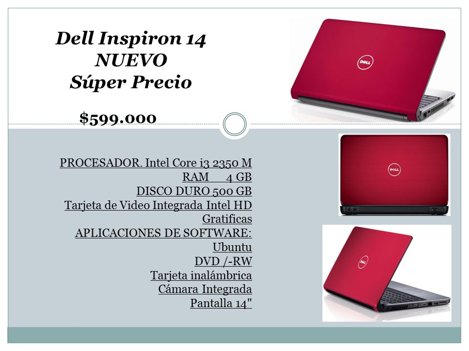 Dell Inspiron 14 NUEVO Súper Precio