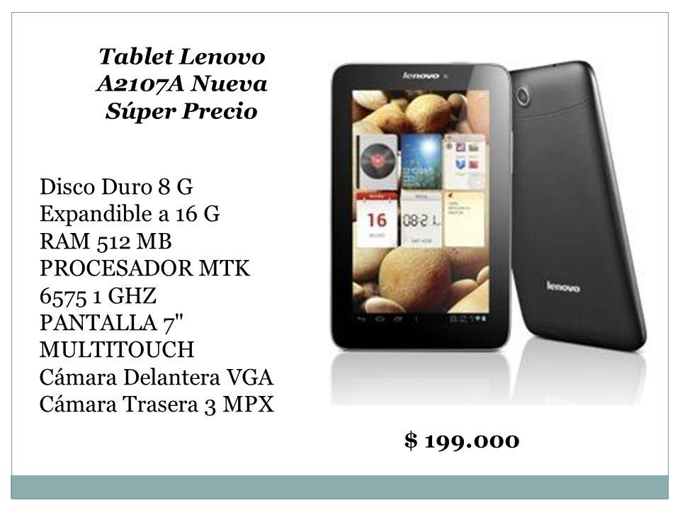 Tablet Lenovo A2107A Nueva Súper Precio