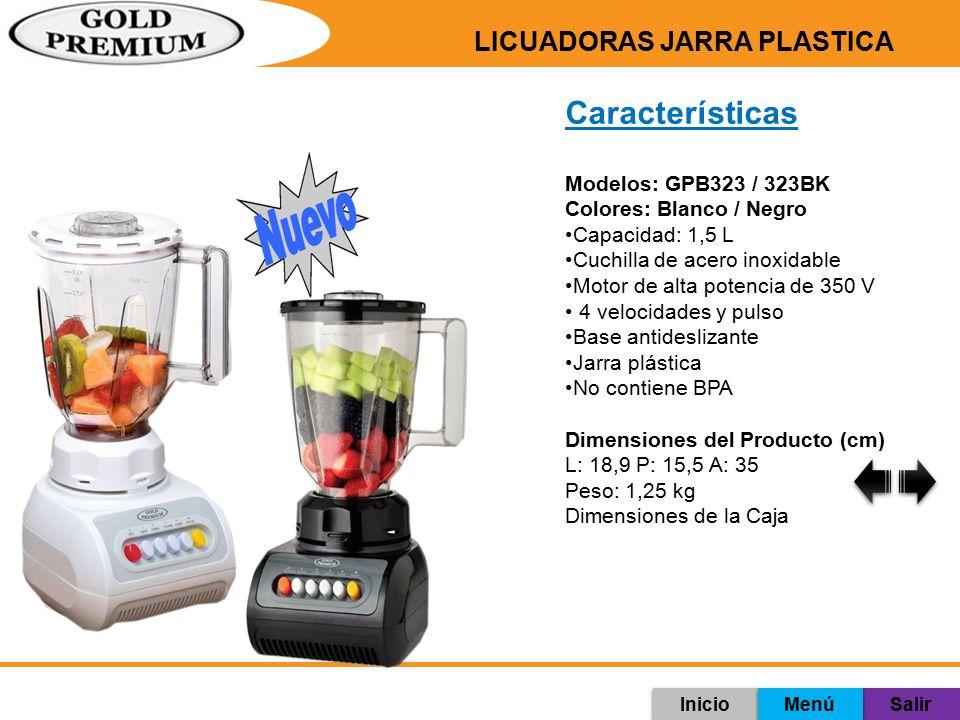LICUADORAS JARRA PLASTICA