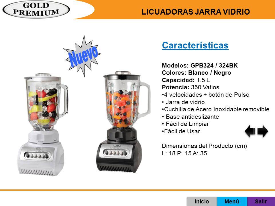 LICUADORAS JARRA VIDRIO