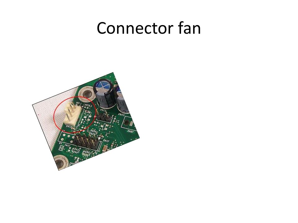 Connector fan