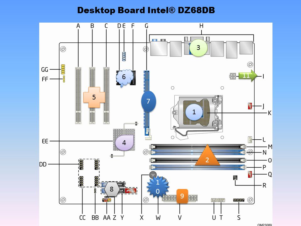 Desktop Board Intel® DZ68DB