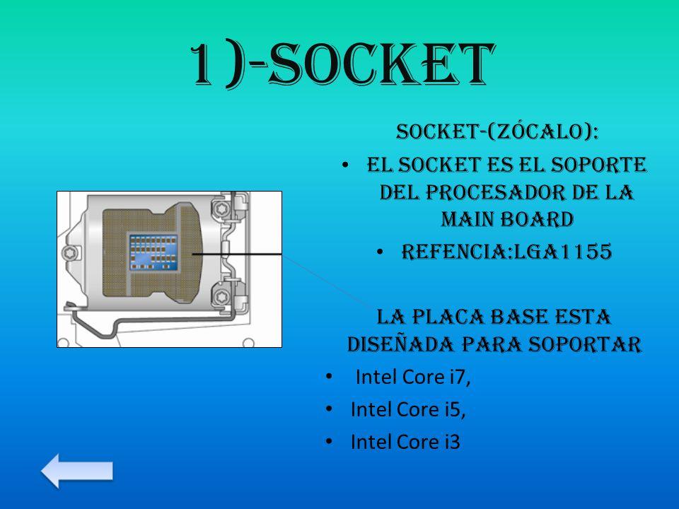 1)-socket socket-(zócalo):