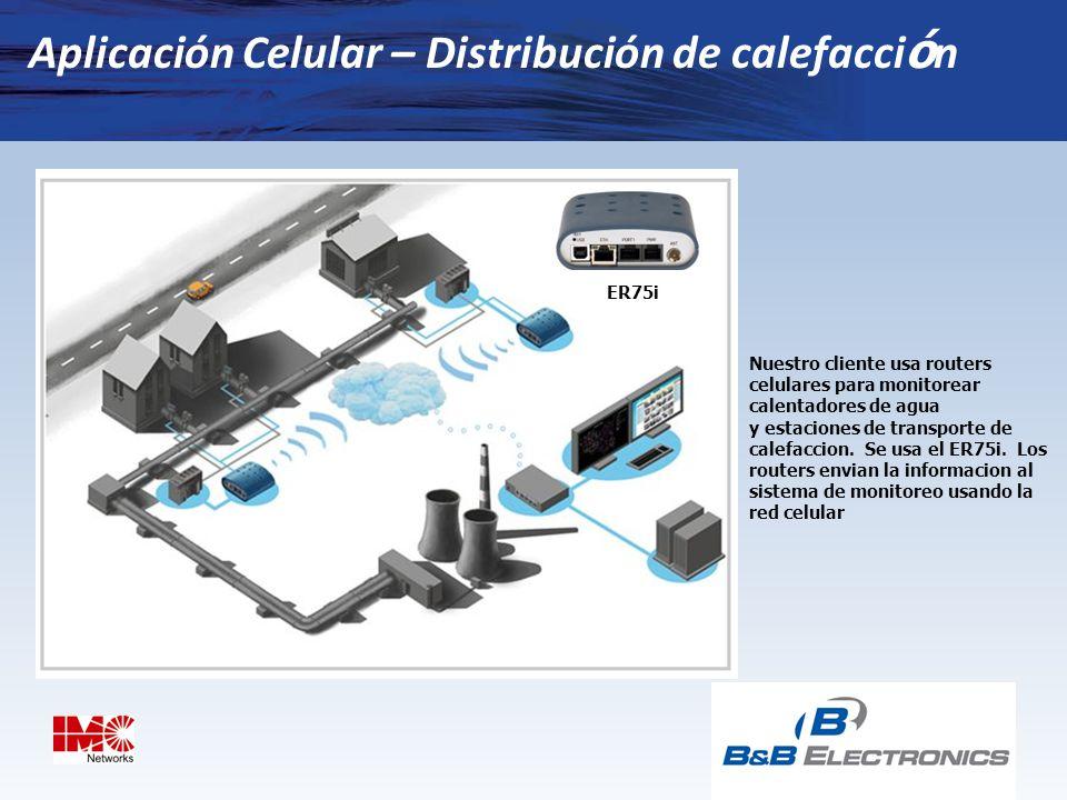 Aplicación Celular – Distribución de calefacción