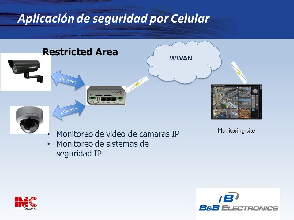 Aplicación de seguridad por Celular